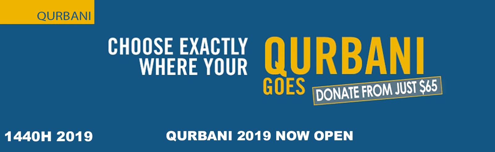 Qurbani/Udhiya 2019 - Qurbani Foundation